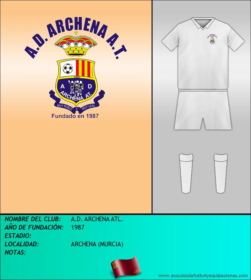 Escudo de A.D. ARCHENA ATL.