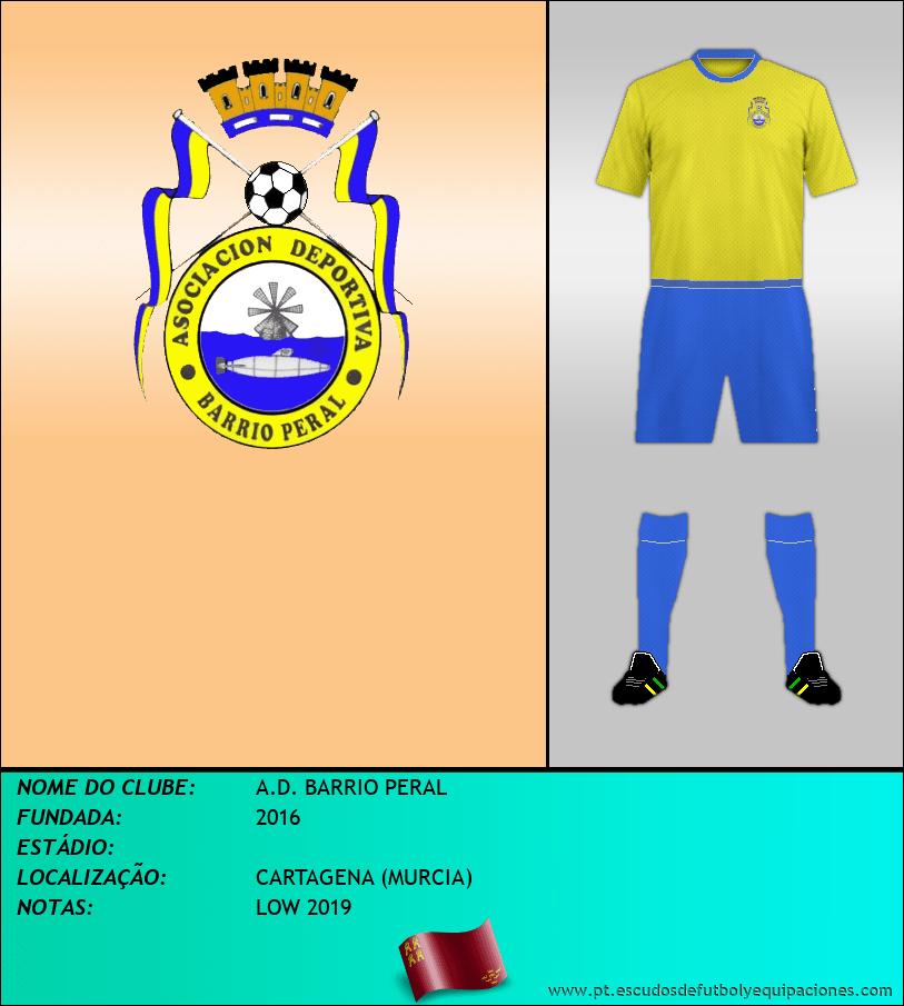 Escudo de A.D. BARRIO PERAL