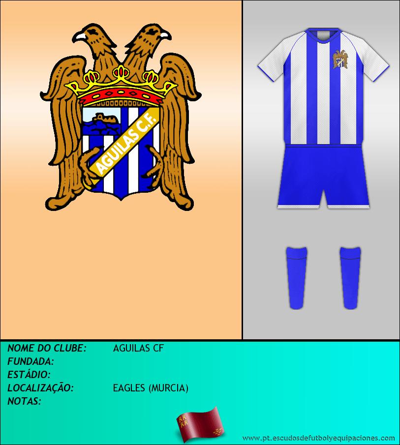 Escudo de AGUILAS CF