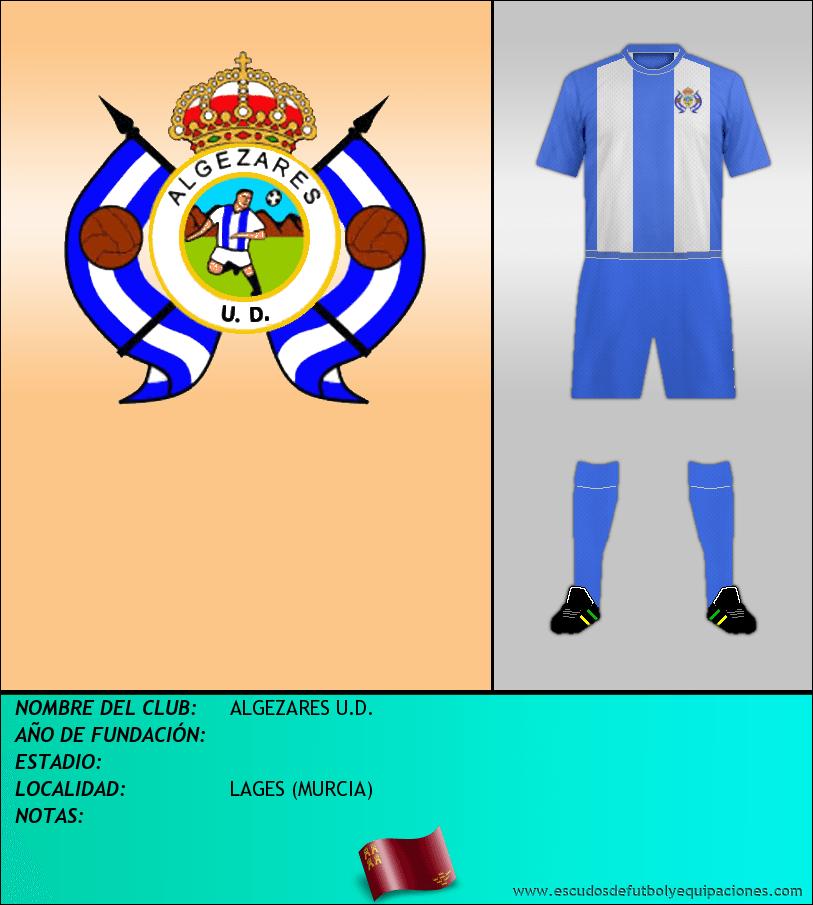 Escudo de ALGEZARES U.D.