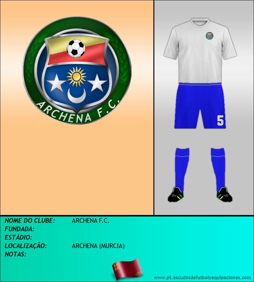 Escudo de ARCHENA F.C.