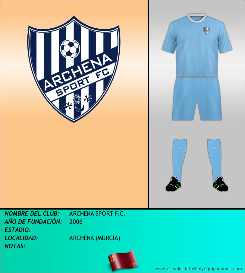 Escudo de ARCHENA SPORT F.C.