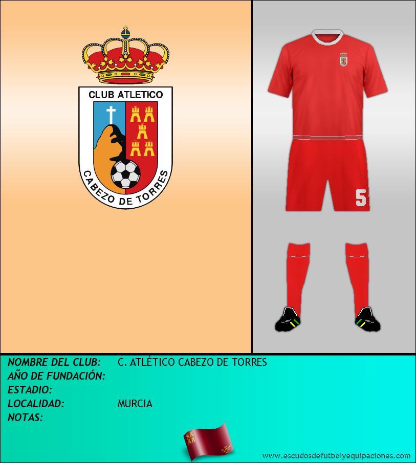 Escudo de C. ATLÉTICO CABEZO DE TORRES