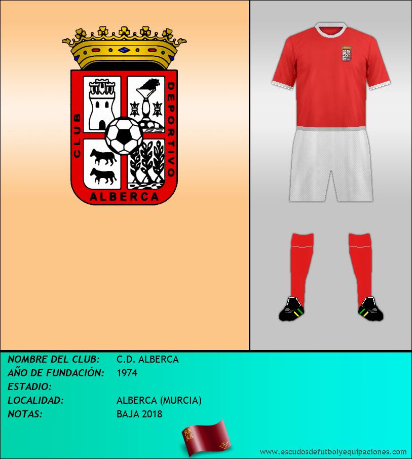 Escudo de C.D. ALBERCA