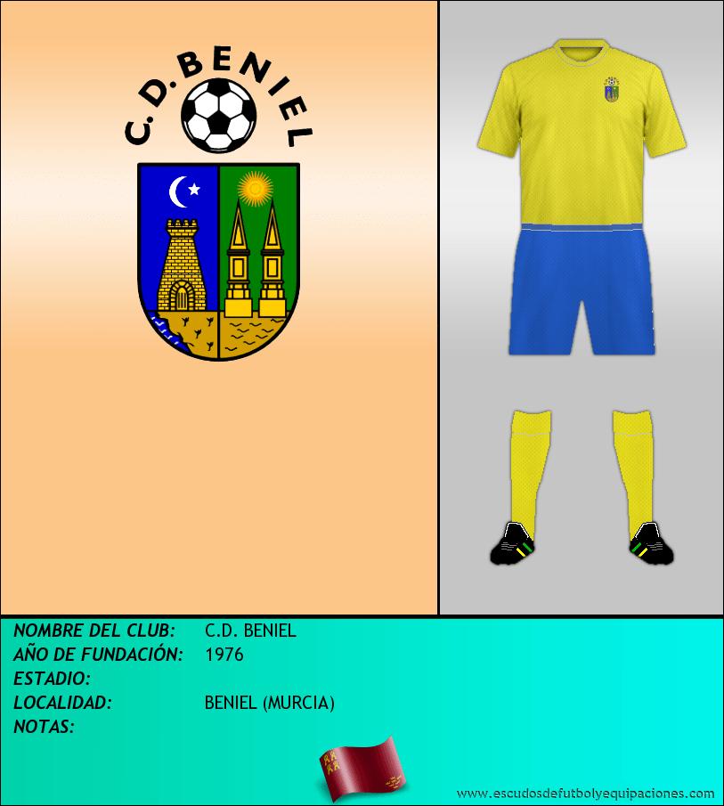 Escudo de C.D. BENIEL
