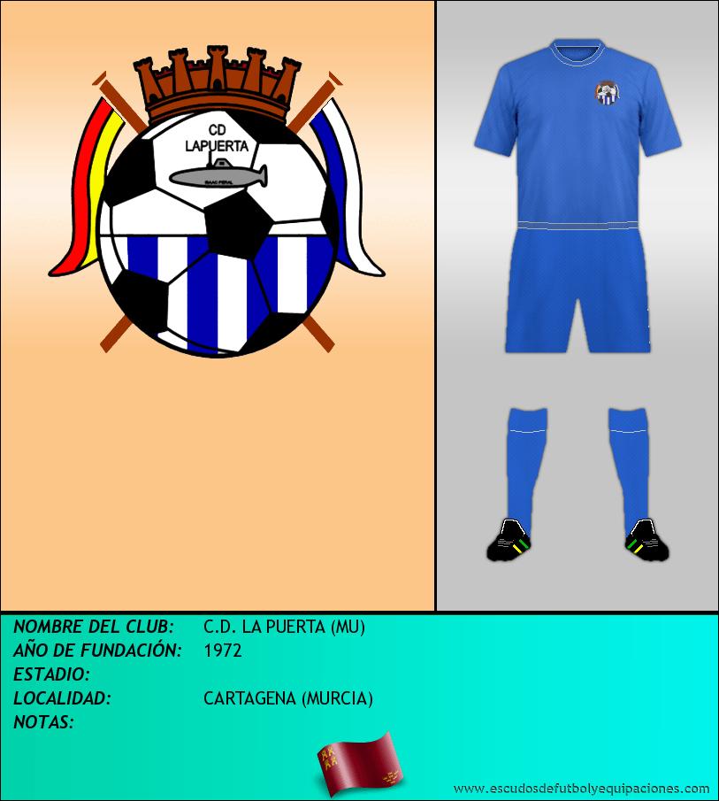 Escudo de C.D. LA PUERTA (MU)