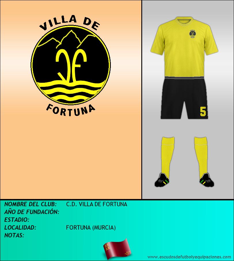 Escudo de C.D. VILLA DE FORTUNA