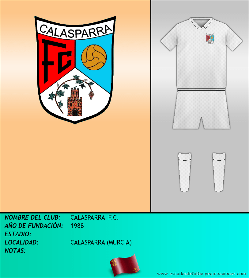 Escudo de CALASPARRA  F.C.