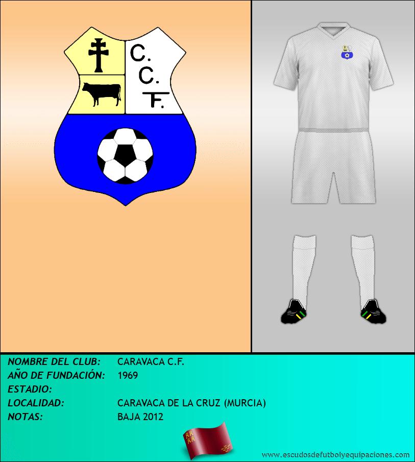 Escudo de CARAVACA C.F.