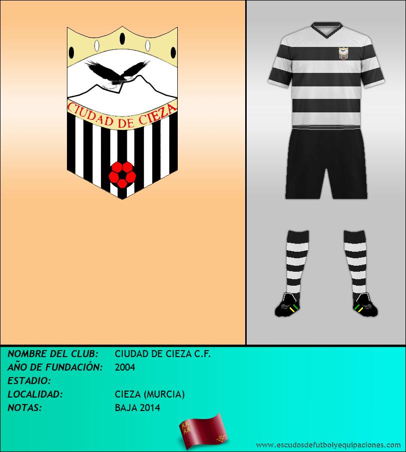 Escudo de CIUDAD DE CIEZA C.F.