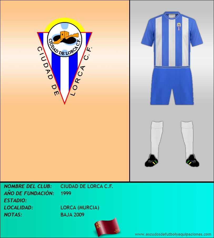 Escudo de CIUDAD DE LORCA C.F.