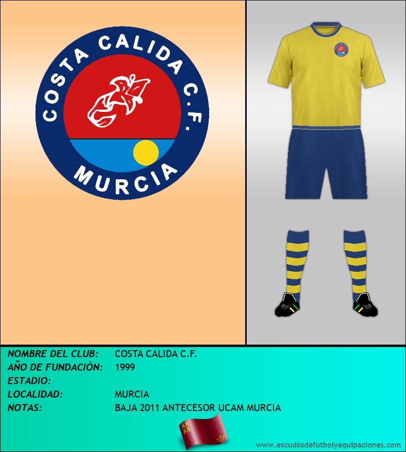 Escudo de COSTA CALIDA C.F.