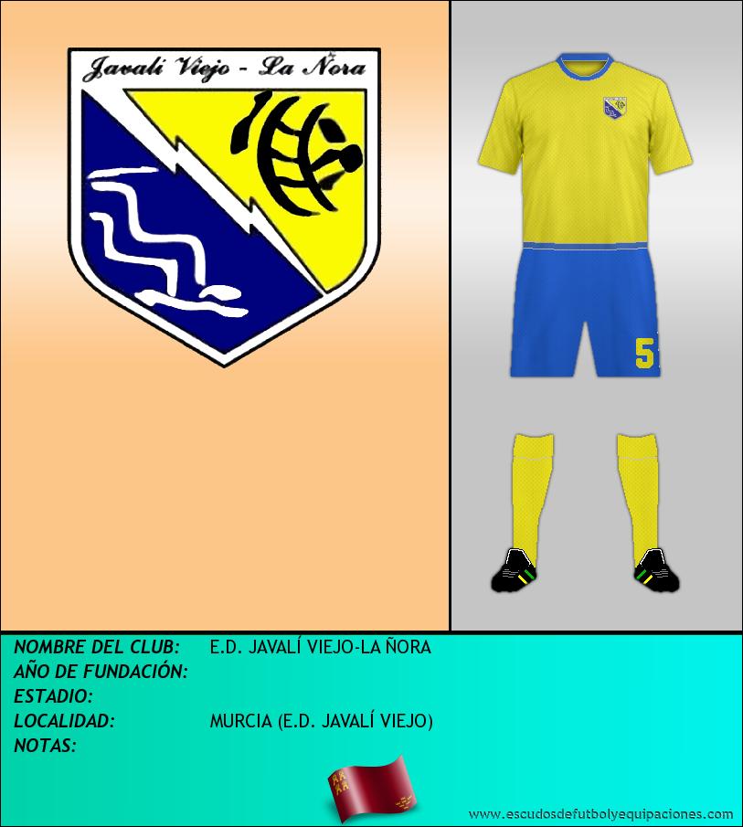 Escudo de E.D. JAVALÍ VIEJO-LA ÑORA