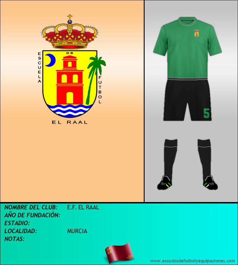 Escudo de E.F. EL RAAL