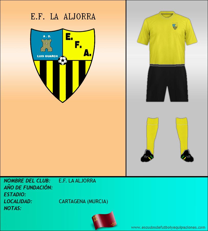 Escudo de E.F. LA ALJORRA
