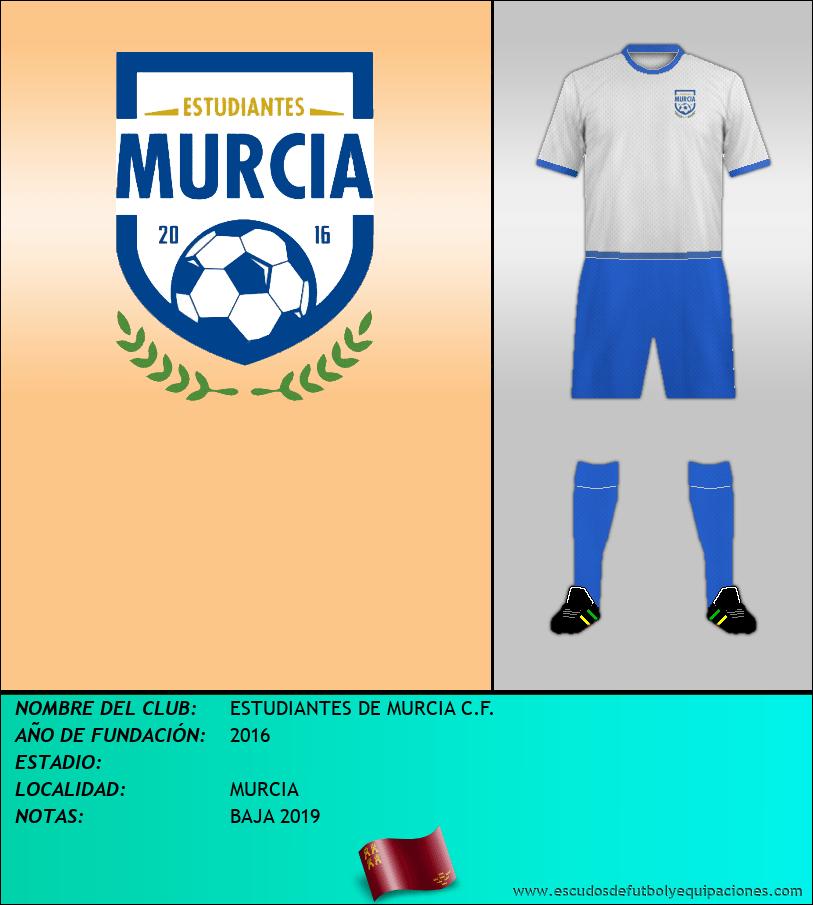 Escudo de ESTUDIANTES DE MURCIA C.F.