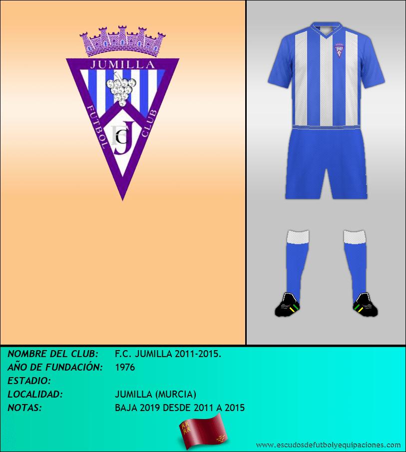 Escudo de F.C. JUMILLA 2011-2015.