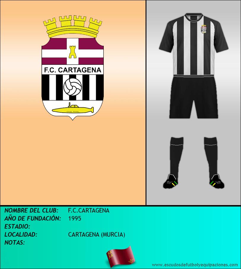 Escudo de F.C.CARTAGENA