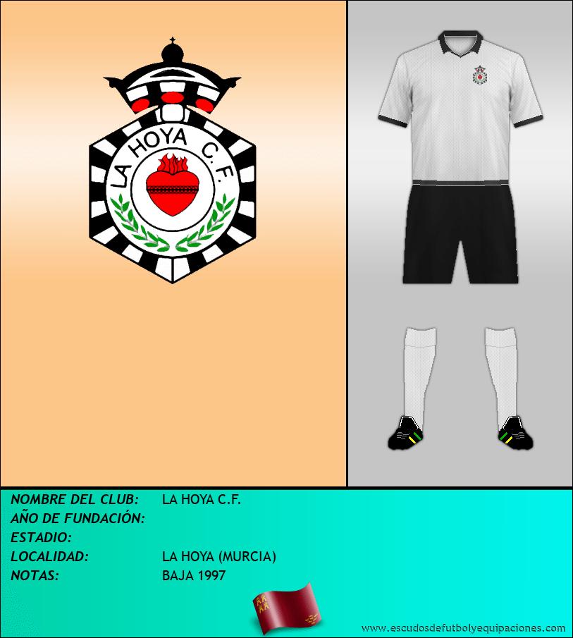 Escudo de LA HOYA C.F.