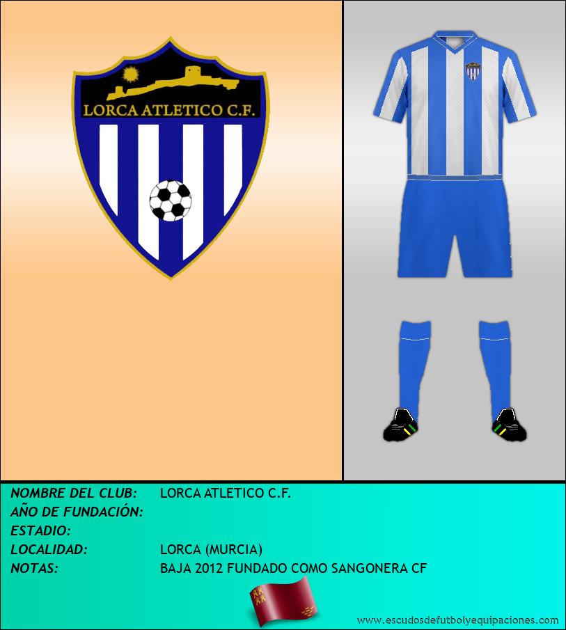 Escudo de LORCA ATLETICO C.F.
