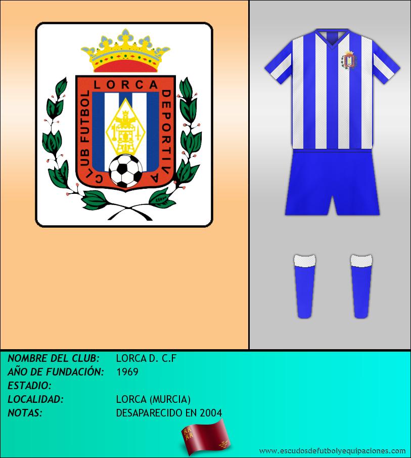 Escudo de LORCA D. C.F