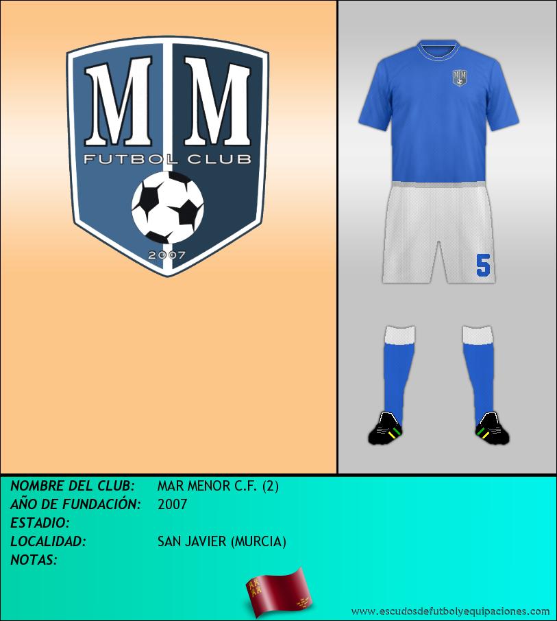 Escudo de MAR MENOR C.F. (2)