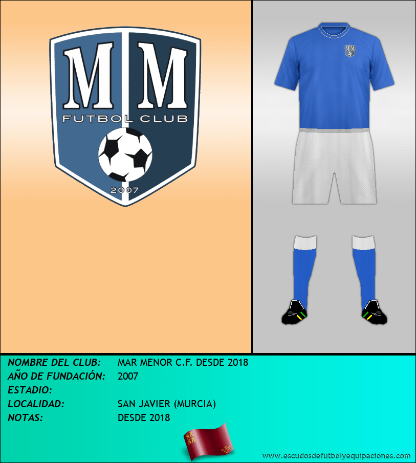 Escudo de MAR MENOR C.F. DESDE 2018