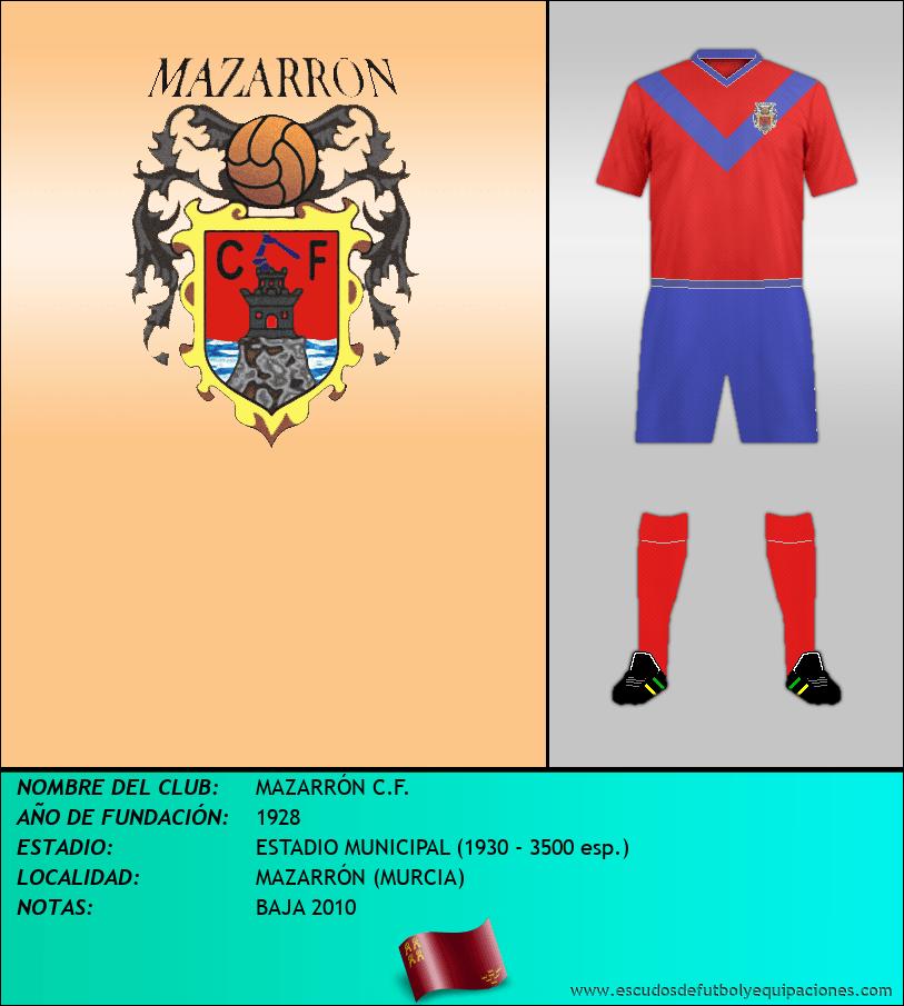 Escudo de MAZARRÓN C.F.