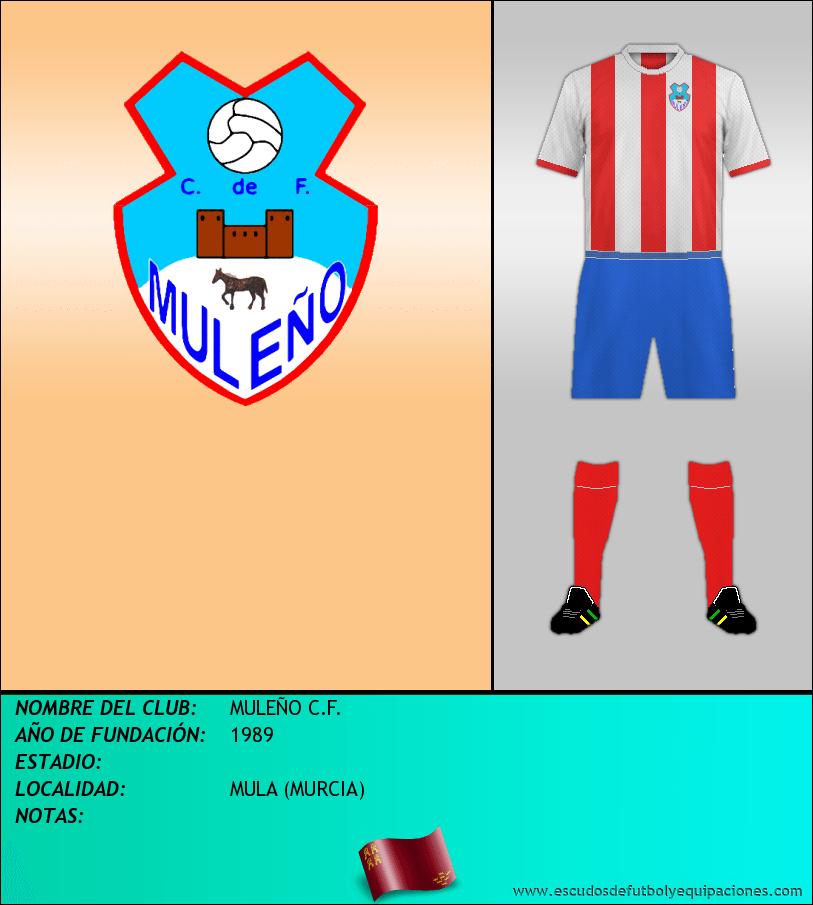 Escudo de MULEÑO C.F.