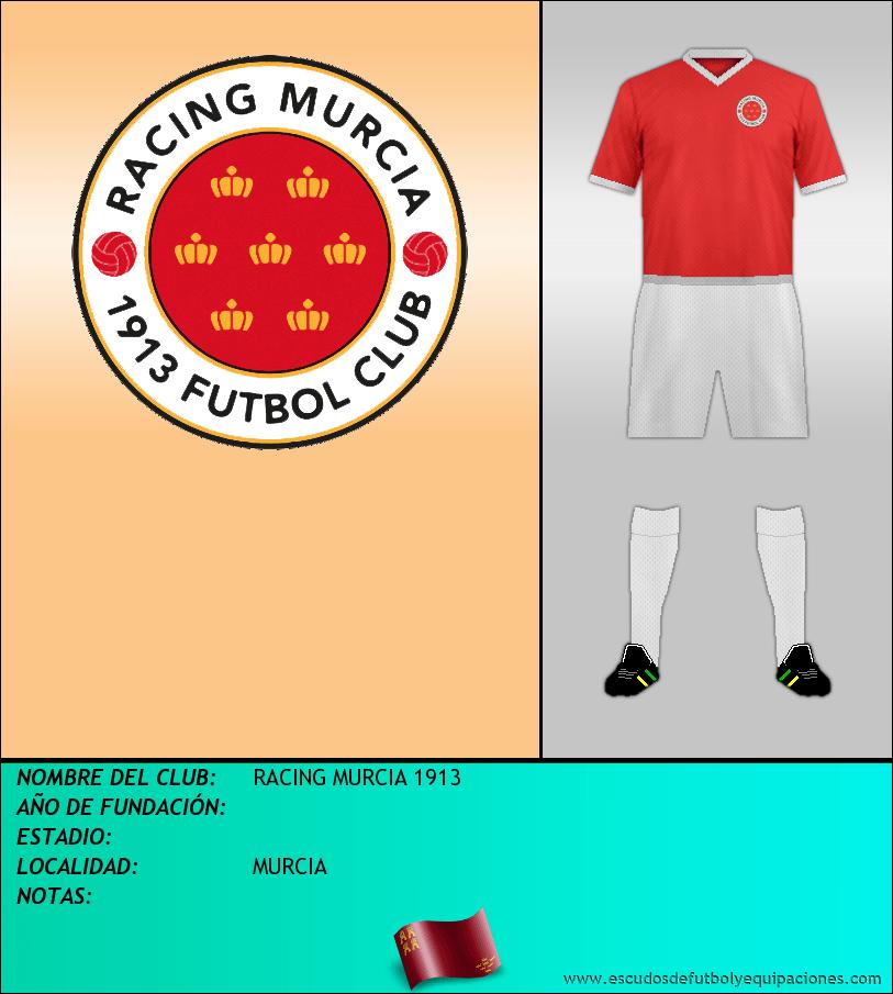 Escudo de RACING MURCIA 1913