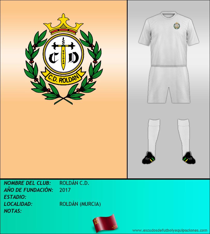 Escudo de ROLDÁN C.D.