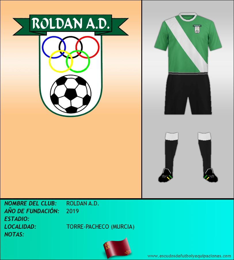 Escudo de ROLDAN A.D.