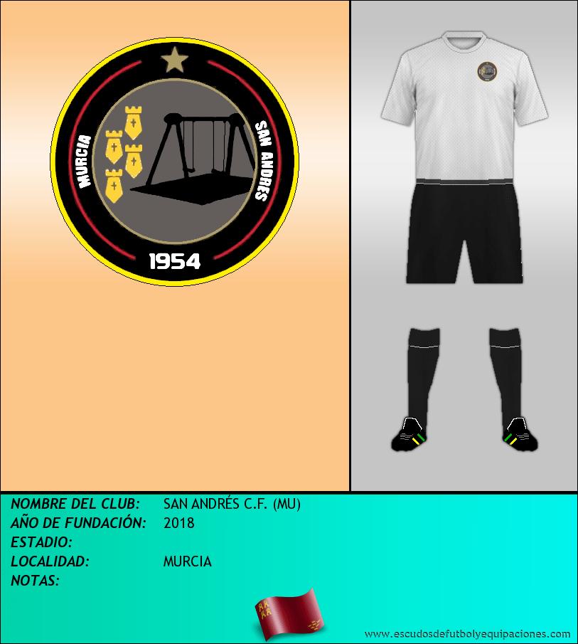Escudo de SAN ANDRÉS C.F. (MU)