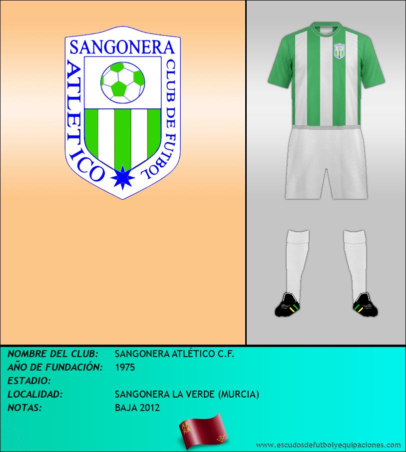 Escudo de SANGONERA ATLÉTICO C.F.