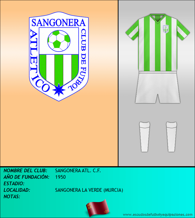 Escudo de SANGONERA ATL. C.F.