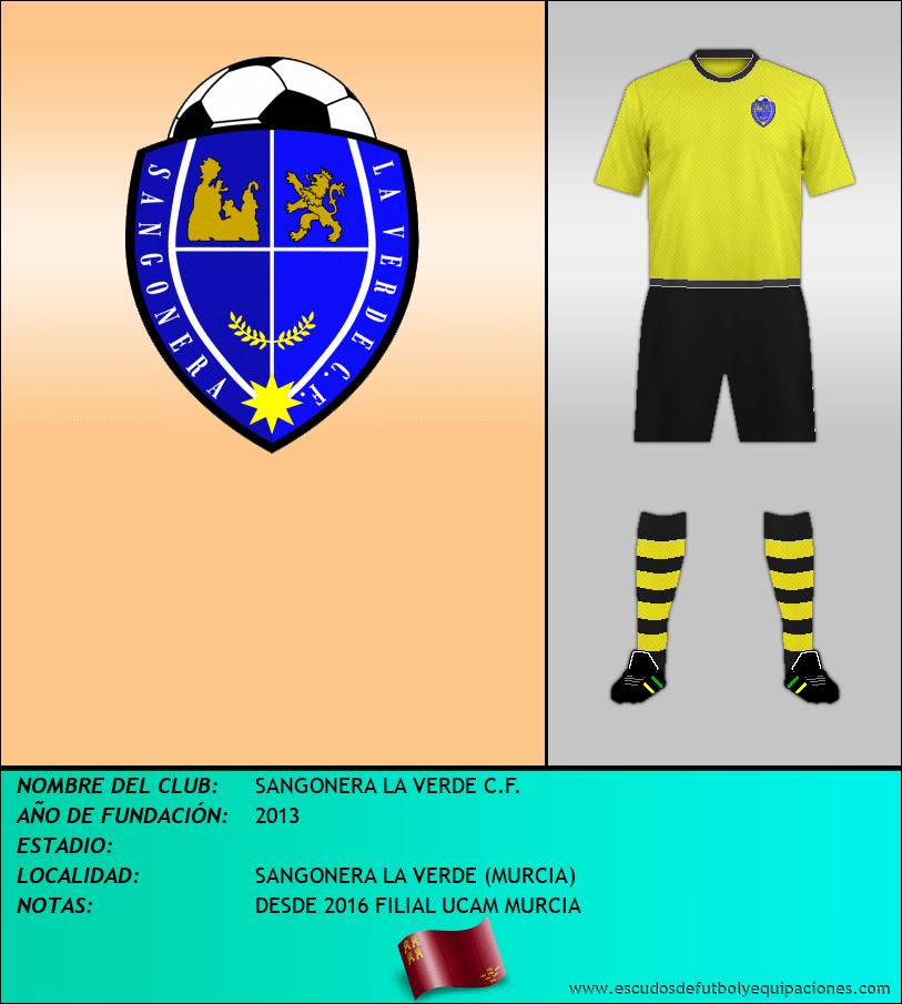 Escudo de SANGONERA LA VERDE C.F.