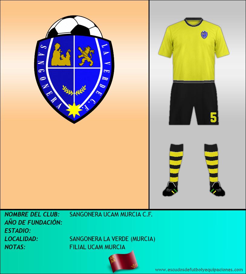 Escudo de SANGONERA UCAM MURCIA C.F.