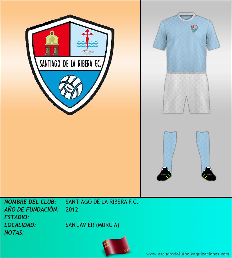 Escudo de SANTIAGO DE LA RIBERA F.C.