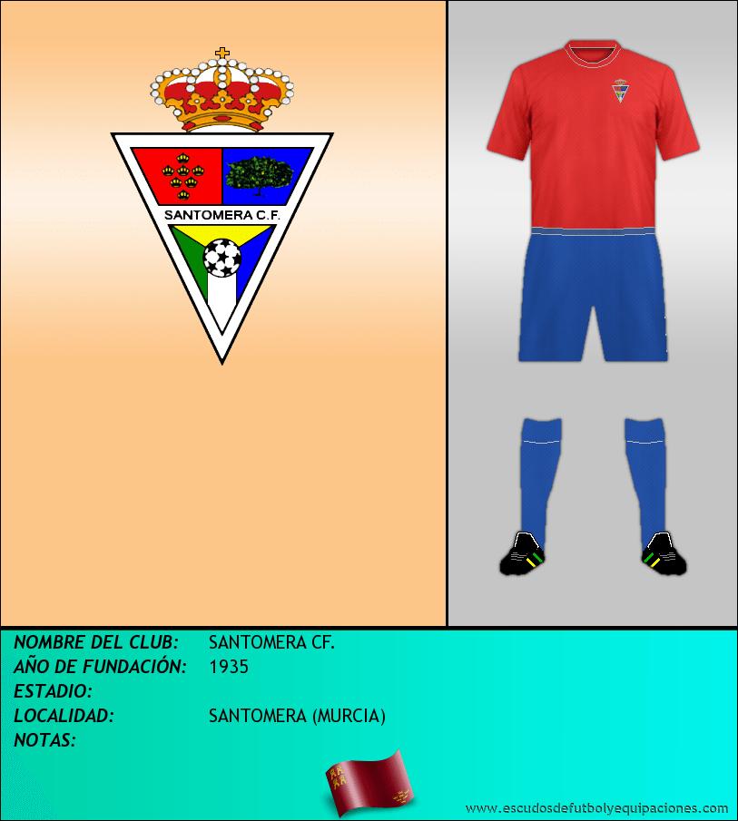 Escudo de SANTOMERA CF.