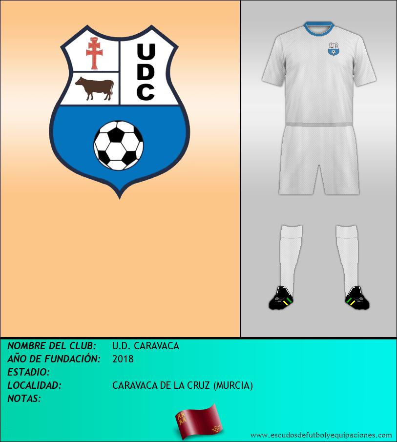 Escudo de U.D. CARAVACA