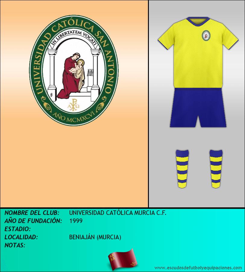 Escudo de UNIVERSIDAD CATÓLICA MURCIA C.F.
