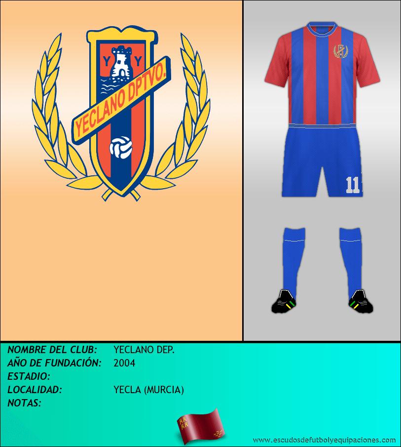 Escudo de YECLANO DEP.