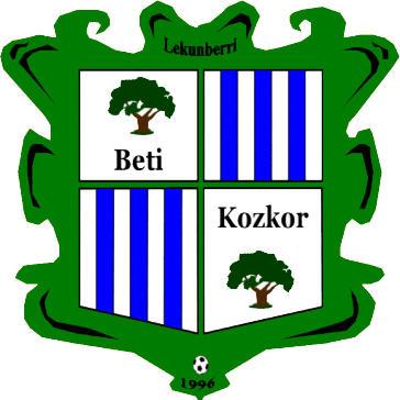 Escudo de BETI KOZKOR K.E. (NAVARRA)
