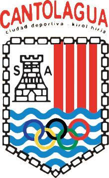 Escudo de C.D. CANTOLAGUA (NAVARRA)