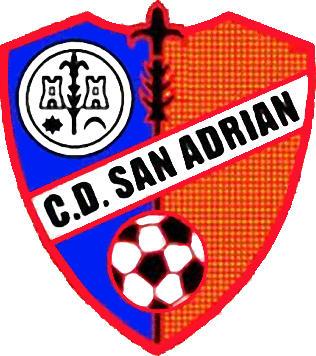 Escudo de C.D. SAN ADRIAN (NAVARRA)