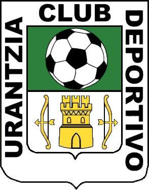 Escudo de C.D. URANTZIA (NAVARRA)