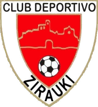 Escudo de C.D. ZIRAUKI (NAVARRA)