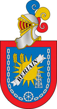 Escudo de C.F. BERIAIN (NAVARRA)