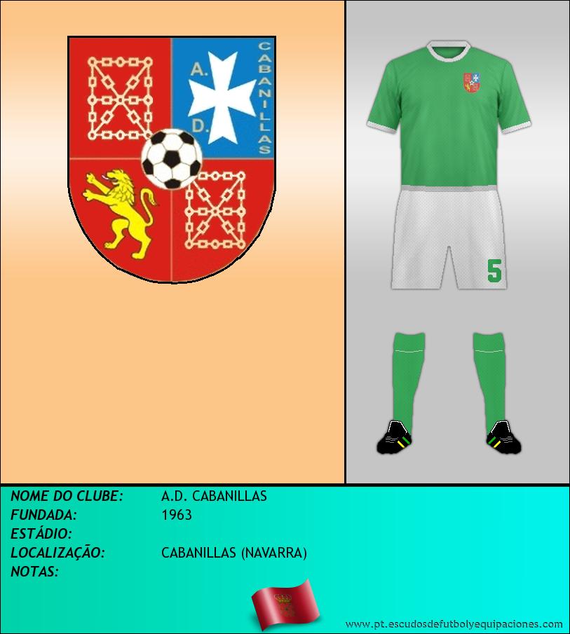 Escudo de A.D. CABANILLAS