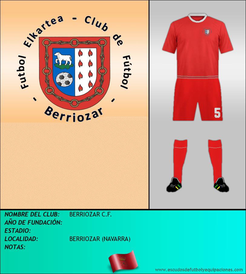 Escudo de BERRIOZAR C.F.